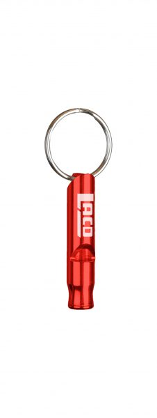 Mini Emergency Whistle Keyholder