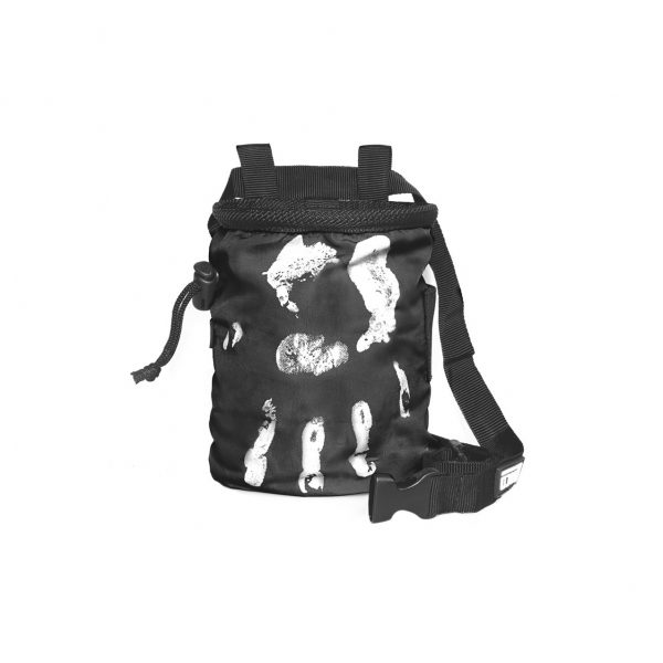 Chalk Bag Hand of Fate black