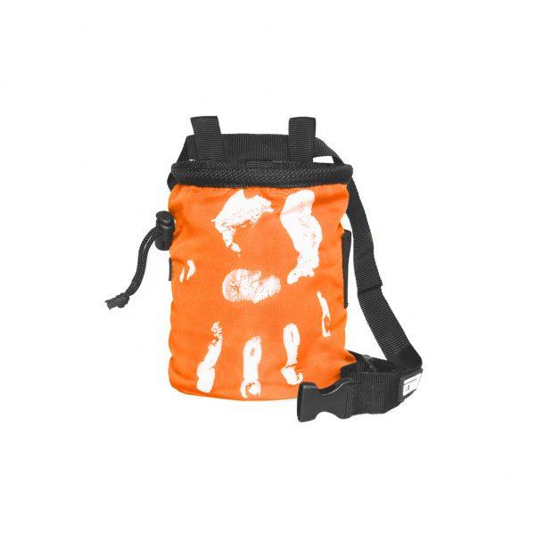 Chalk Bag Hand of Fate orange