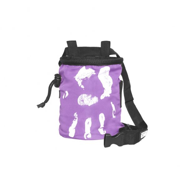 Chalk Bag Hand of Fate purple