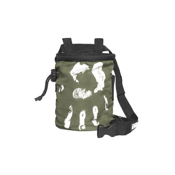 Chalk Bag Hand of Fate army green