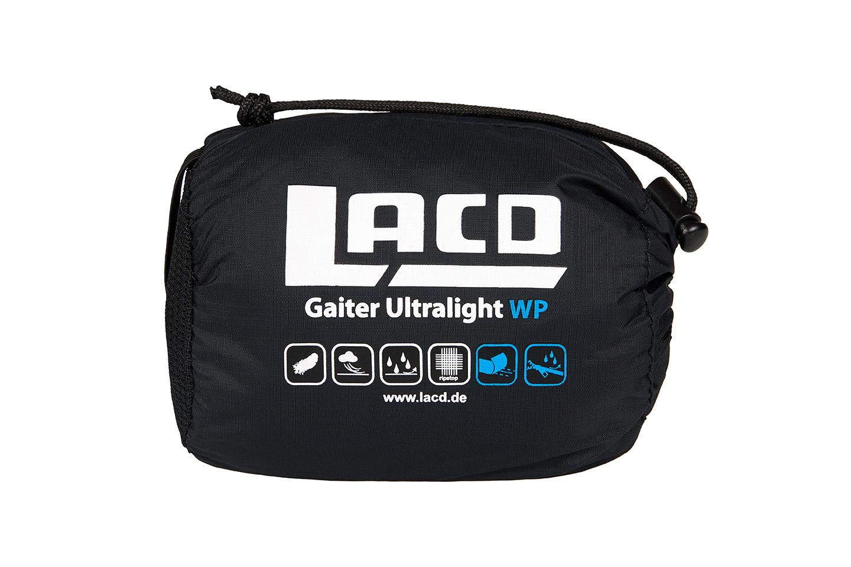 Klettergurt Ultralight : Lacd gaiter ultralight wp