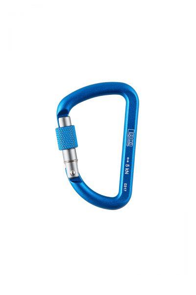 Accessory Biner Screw Blue 65mm