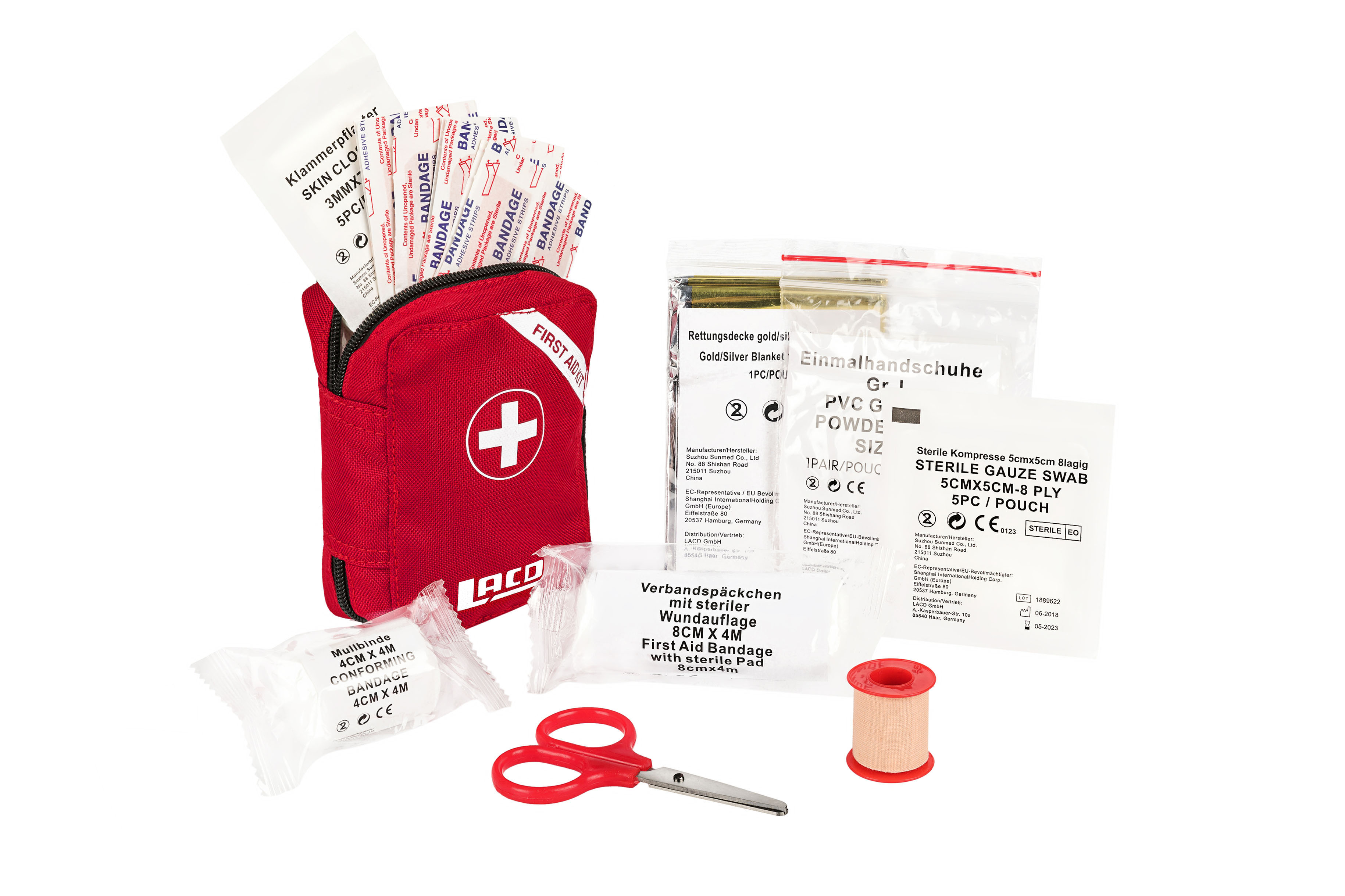 Klettergurt Lacd : Lacd first aid kit
